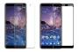 Стъклен протектор за Nokia 7 Plus (Темперирано закалено стъкло) ''Full Screen 3D''