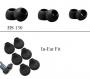 Комплект силиконови тапи за слушалки