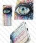 Аpple iPhone 5C (калъф пластик) Artistic Eye