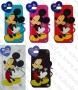 Аpple iPhone 5/5s/5c (силиконов калъф) 'Love Mickey Mouse style'
